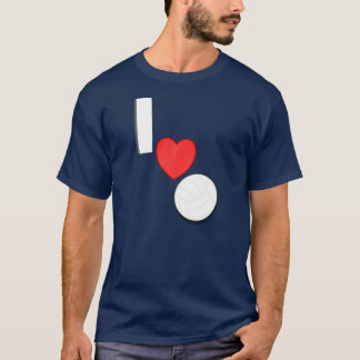 I Love Volleyball 2 T-Shirt