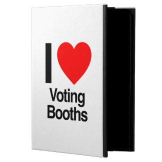 i love voting booths cover for iPad air