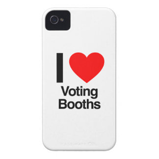 i love voting booths iPhone 4 covers