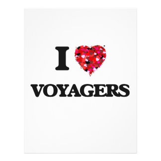 I love Voyagers 21.5 Cm X 28 Cm Flyer