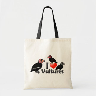 I Love Vultures (North America) Tote Bag