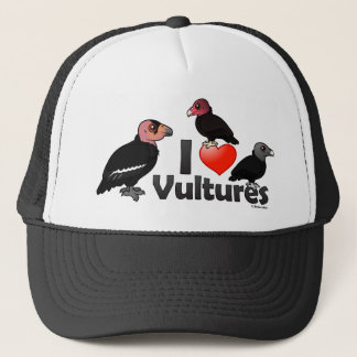 I Love Vultures (North America) Trucker Hat