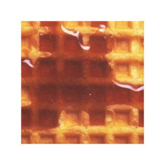 "I Love Waffles 12"" x 12"", 1.5"", Single Canvas Print"