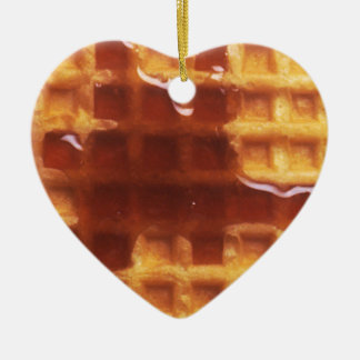 I Love Waffles Ornament