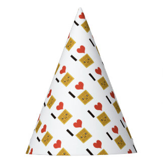 I Love Waffles Party Hat