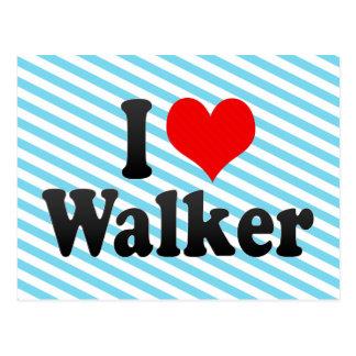 I love Walker Post Card