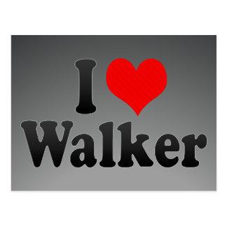 I love Walker Postcard