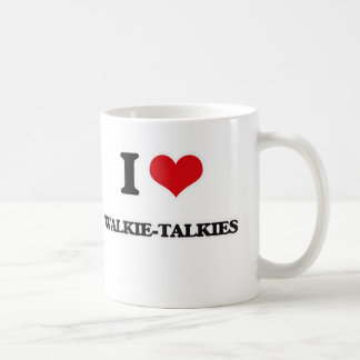 I Love Walkie-Talkies Coffee Mug