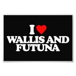 I LOVE WALLIS AND FUTUNA PHOTOGRAPHIC PRINT