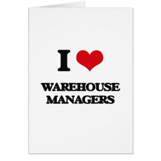 I love Warehouse Managers Cards