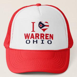 I love Warren, Ohio Trucker Hat