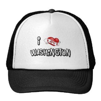 I Love Washington Cap