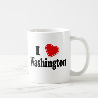 I Love Washington Coffee Mug