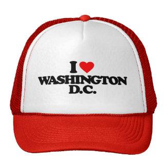 I LOVE WASHINGTON D.C. TRUCKER HAT