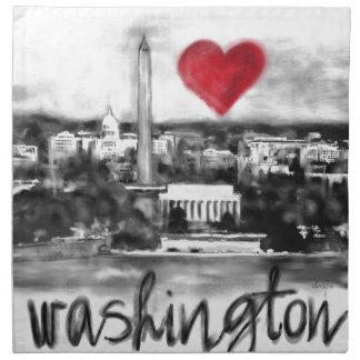 I love Washington Napkin