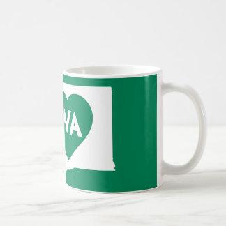 I Love Washington State Classic Mug