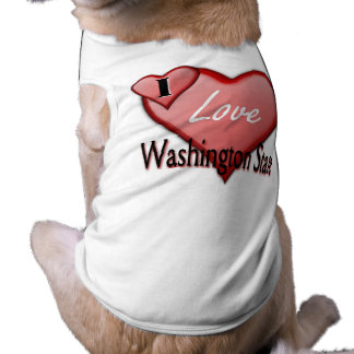 I Love Washington State Shirt