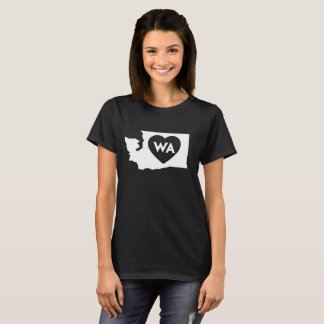 I Love Washington State Women's Basic T-Shirt