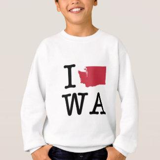 I Love Washington Sweatshirt