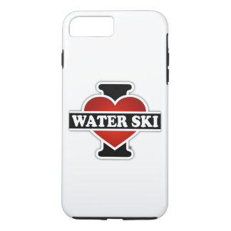 I Love Water Ski iPhone 7 Plus Case