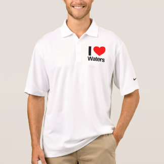i love waters polos