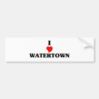 I love Watertown Ma t shirts. Amazing design on te Bumper Sticker