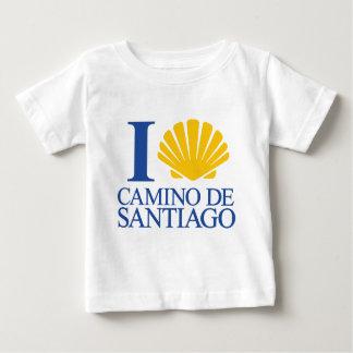 I Love Way of Santiago Baby T-Shirt