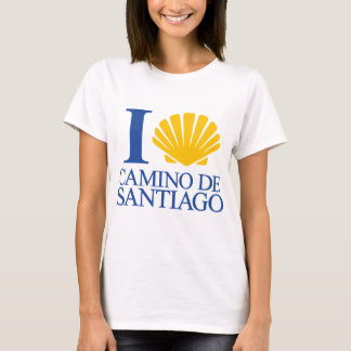 I Love Way of Santiago T-Shirt