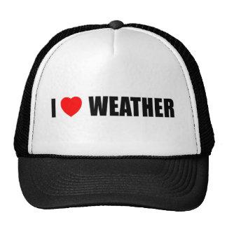 I Love Weather Hats