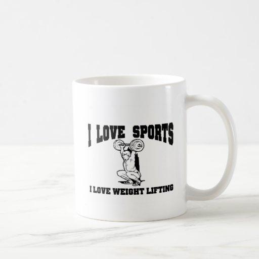 I love weight lifting mug
