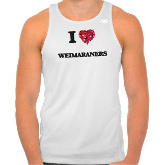 I love Weimaraners Singlet