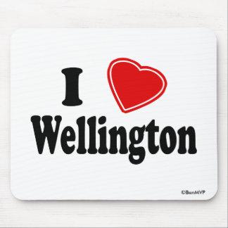 I Love Wellington Mouse Pad