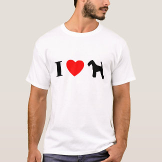I Love Welsh Terriers T-Shirt