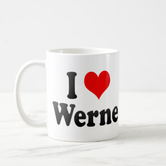 I Love Werne, Germany Coffee Mug