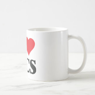 I Love West Coast Swing Coffee Mug