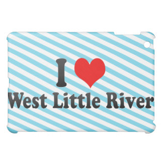 I Love West Little River, United States Case For The iPad Mini
