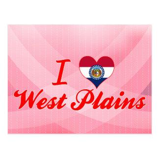 I Love West Plains, Missouri Postcards