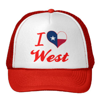 I Love West, Texas Hat