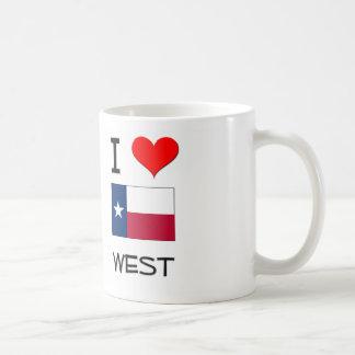 I Love West Texas Coffee Mugs