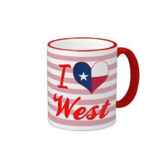 I Love West, Texas Coffee Mug