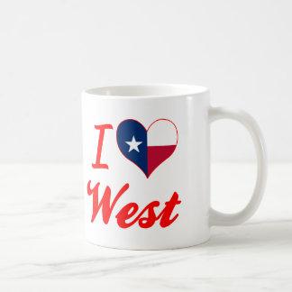 I Love West, Texas Mug