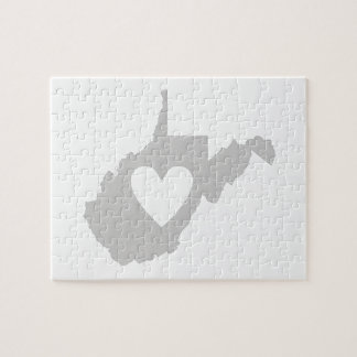 I Love West Virginia Jigsaw Puzzle