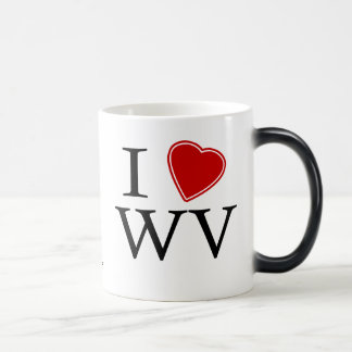 I Love West Virginia Magic Mug