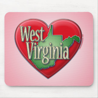I love West Virginia Mouse Pad