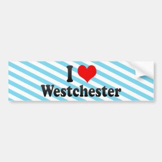 I Love Westchester, United States Bumper Sticker