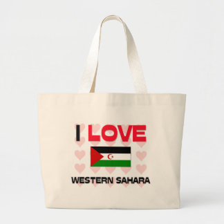 I Love Western Sahara Bag