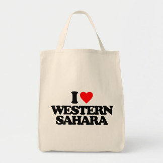 I LOVE WESTERN SAHARA BAGS