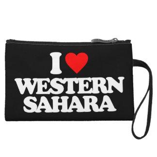 I LOVE WESTERN SAHARA WRISTLET