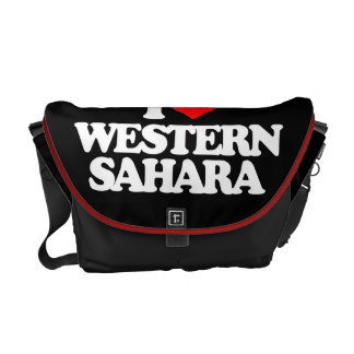 I LOVE WESTERN SAHARA COURIER BAGS