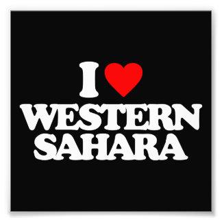 I LOVE WESTERN SAHARA PHOTO